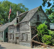 The Oldest Wood School House in The USA - St. Augustine, Florida.  by 242Digital