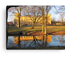 Mirrored Palace Canvas Print
