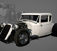 1931 Model A Hot Rod  by TeeMack