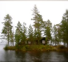 Cabin on the Island by julie08