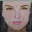 Thalia in acrylic and oil Pastel.... by fladelita