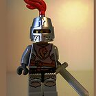 LEGO® Kingdoms Lion Knight Minifigure with Armor with Lion Head and Belt by Chillee