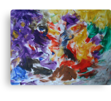 Abstract painting.... Canvas Print