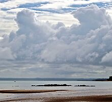 Clouds over Fraser Island by Greta van der Rol