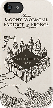 Marauder's Map by Cole Pickup