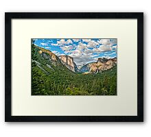 ****** VALLEY VIEW ****** Framed Print