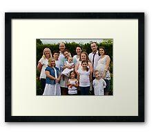 Craven Family 3 Framed Print
