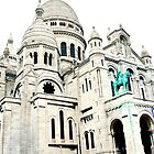 The Basilica of the Sacred Heart of Paris by David Mapletoft