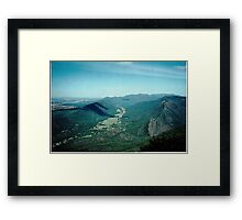 Hall's Gap Township -  Grampians Mountain Range,Vic. Australia* Framed Print