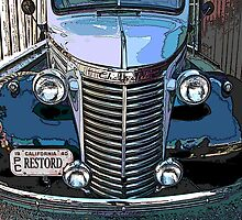 Classic Chevrolet Pickup 1 by Samuel Sheats