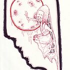 she sought the moon (and the thought of its embrace induced liquifaction) by PrettySquirrels
