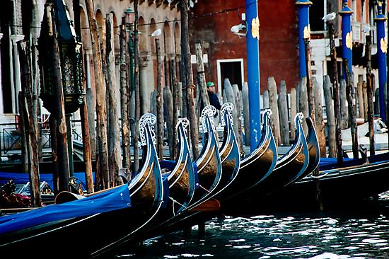 Gondolas by A. Duncan
