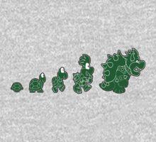 Ascent of Koopa (Green) by scribblechap