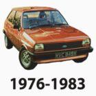 Ford Fiesta Mk1 1976-1983 by ImageMonkey