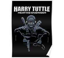 Harry Tuttle - Heating Engineer Poster