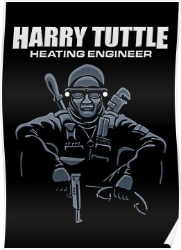 Harry Tuttle - Heating Engineer by DoodleDojo