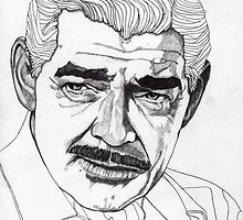 Clark Gable by Paul  Nelson-Esch