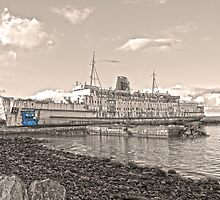 Ghostly Duke of Lancaster by DavidWHughes