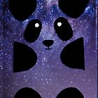 Galaxy Panda by Poulpi