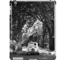 Cinquecento Fiat 500 BW iPad Case/Skin