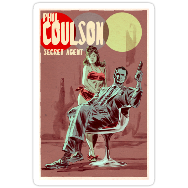 Phil Coulson Secret Agent by J. Stoneking