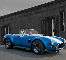 1966 Shelby Cobra 427 B/W by DaveKoontz