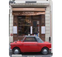 Autobianchi in Paris iPad Case/Skin