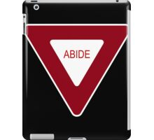 Abide [Tee & Case] iPad Case/Skin