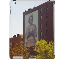 Retro Nurse poster, New York iPad Case/Skin