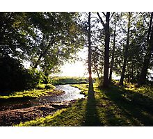 Peaceful River Photographic Print