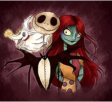 The Nightmare Before Christmas Photographic Print