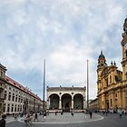 Odeonsplatz Munich by scottsmithphoto