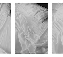 Beds Triptych by Lisa Blair