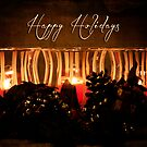 Holiday Candles by Pamela Holdsworth
