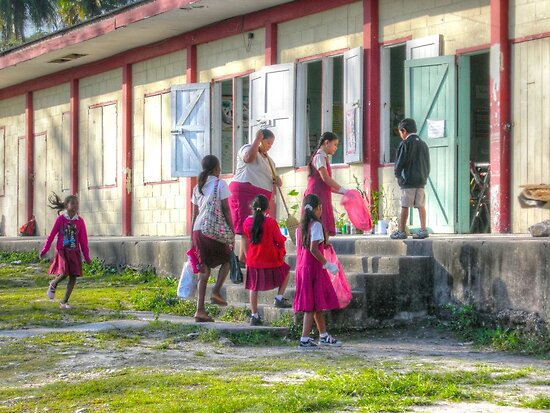 7:45 AM... School Opening in San Ignacio - Belize, Central America by 242Digital