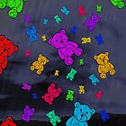 It's Raining Teddy Bears! by Rod Underhill