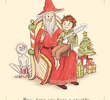 Gandalf's making his list...and checking it twice! by AliciaMB