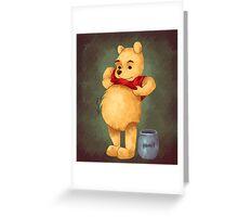 Pooh Greeting Card