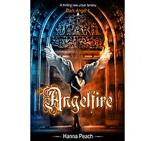 Anglefire book cover for Hanna Peach Photographic Print