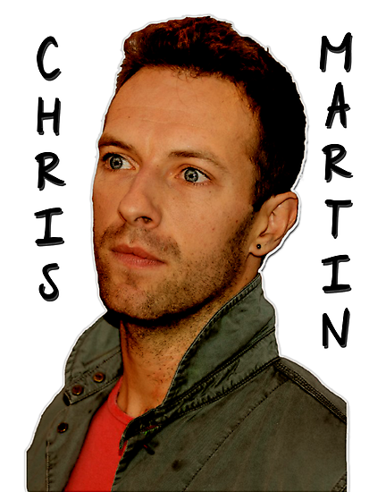 Coldplay - Chris Martin (Black) by JuliaJean1