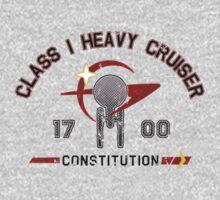 Heavy Class Cruiser Front - light Kids Clothes