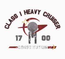 Heavy Class Cruiser Front - Dark Kids Clothes