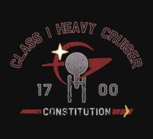 Heavy Class Cruiser Back - Dark by Jeffery Wright