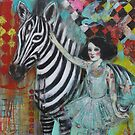 Ephemera And The Zebra by Maria Pace-Wynters