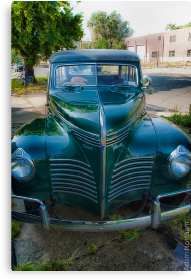 1940 Plymouth Woody Wagon by Adam Northam