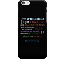 It's a YJ thing -colour iPhone Case/Skin