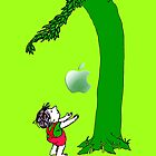 Green, Tree and Kids with an apple iphone 5, iphone 4 4s, iPhone 3Gs, iPod Touch 4g case, Available for T-Shirt man and woman by www. pointsalestore.com