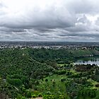 Mount Gambier Panorama by Ginter