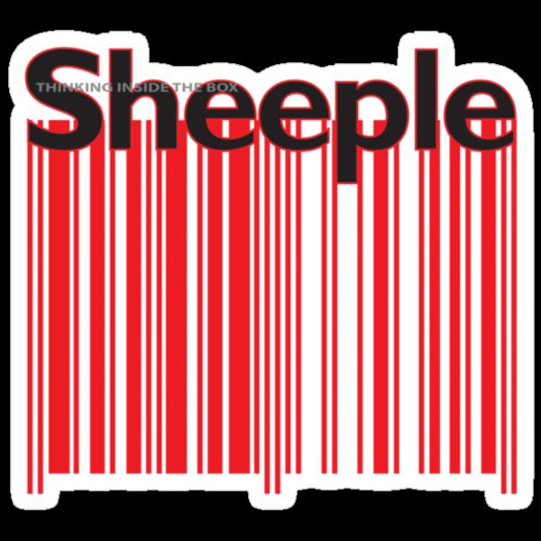Sheeple Red Bar by Paul Fleetham