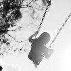 Swinging. by Bec Stewart
